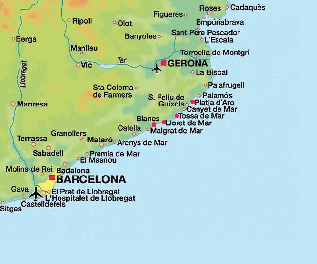 Коста брава описание курортов