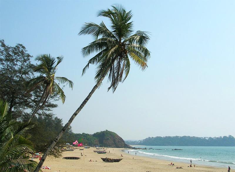 пляж Патнем Южный Гоа
