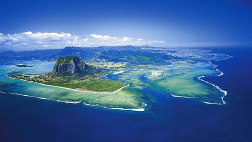 Маврикий гора ле бран и подводный